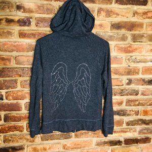 Victoria's Secret Angel Zip Up Hoodie Sweatershirt
